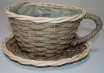 Tea Cup Planter Basket