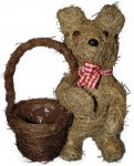 Teddy Bear Planter Baskets
